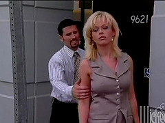 Hardcore Office Fuck with a Big Tit..