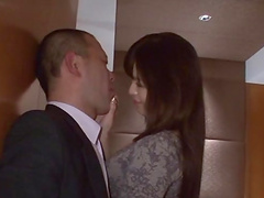 Rough sex with the busty Asian slut..
