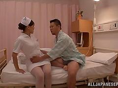 Japanese nurse Rino Yoshihara has..