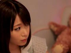 Two gorgeous Japanese babes having..