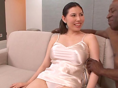 Asian babe's massaged by a brother..