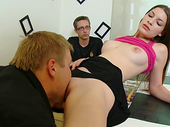 Gorgeous Areta Gets Her Pussy Licked..