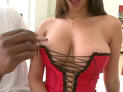 Delightful Jen Capone Has Interracial..