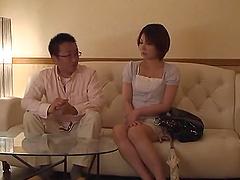 Beautiful Japanese Wife Goes Hardcore..