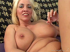 Luxury mature one is enjoying a huge..