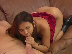 Great sex with the big booty Asian..