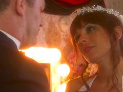 Wedding night sex for Kirsten Price..