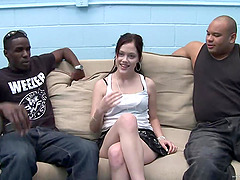 Krystal Jordan gets spit roasted by..
