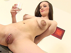 Charming Nancy Masturbates In A Hot..