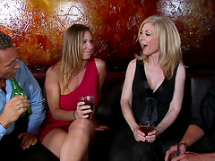 Hot ass blonde bitch gets fucked hard..