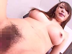 Nasty Asian girl Arisa Sawa enjoys hot..