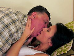 Denise Sky is fucked by a very lucky..