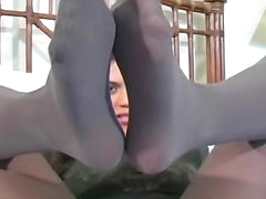 Sexy girl jerk off instructions in..