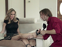 Brandi Love And Chad Alva Go Hardcore..