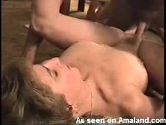 Missionary sex with mature wife