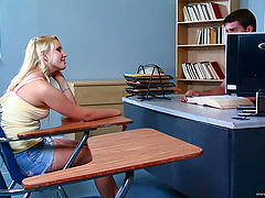 She seduces her teacher and then he..