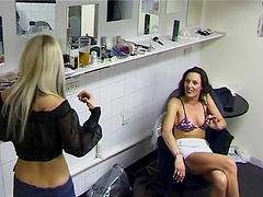 Gorgeos lesbians give you a hot scene..