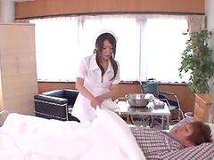 Nurse Hana Nonoka is fucked silly by a..