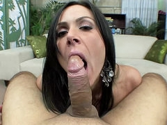 Milf with a love of sucking on cock