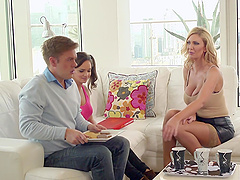 Leigh Darby seduces her son-in-law to..