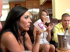 Juicy Veronica Rayne And Angelica Lane..