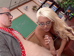 Jacky Joy is fucked in the middle of..
