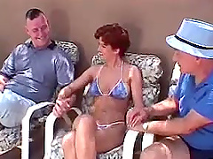 Short-haired milf Lily Peters gets her..