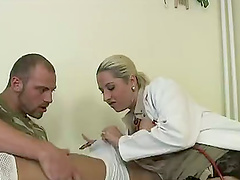 Two Soldiers And One Hot Nurse