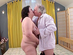 Bad Grandpa Getting His Horny Cock..