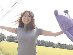 Akiho Yoshizawa gets toyed and..