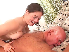 Dirty Old vs Young Sex Starring..