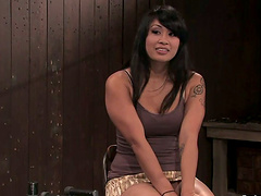 Sybian Forced Ride for Asian..
