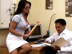 Nasty encounter with a sleazy secretary