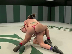 Dykes Dominate Each Other On The..