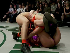 Female Wrestling In The Nude, It's..