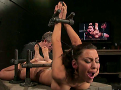 Toying Princess Donna Dolore's Throat..