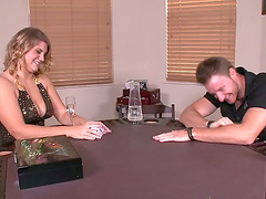 Strip Poker Ends With Hardcore Fucking
