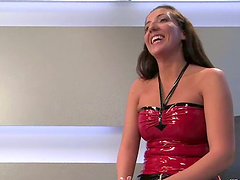 Richelle Ryan gets spanked and fucked..