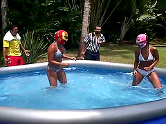 Pool Party And Hardcore Fucking