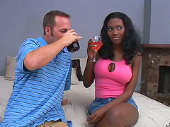Amazing Ebony Babe Gets Fucked By..