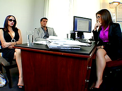 Hot Hardcore Sex in the Office with..