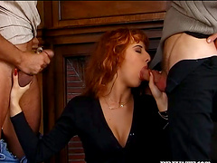 Double Penetration MMF Threesome for..