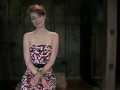 Redhead Justine Joli Tortured in BDS..