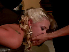 Blonde bride gets fucked and facialed..