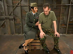 Dominatrix Plays With Her Sex Date..
