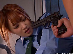 Japanese cop Tsubasa Amami gets..