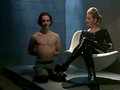 Latex Fetish in Femdom Video with..