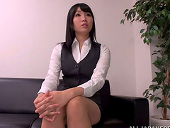 An Office Girl In Tokyo Gets Nailed By..