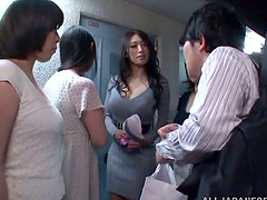 Having Sex with Four Hot Japanese..