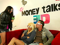 Blonde Girl Gets Fucked Hard with Her..